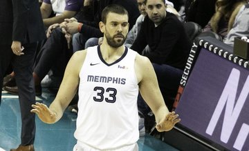 Grizzlies to retire Marc Gasol's jersey No  33