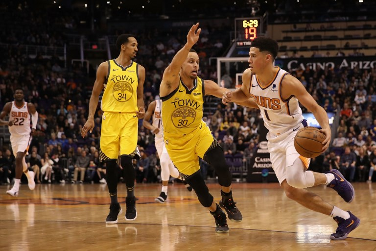 6fae3d49e Defending champ Booker up against Curry brothers