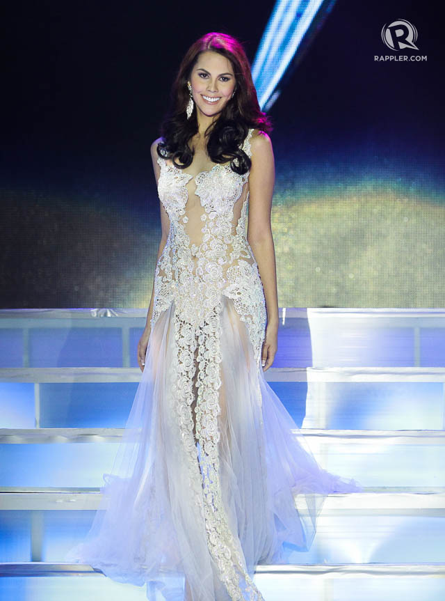 IN PHOTOS: Evening gown competition, Miss PH Earth 2015