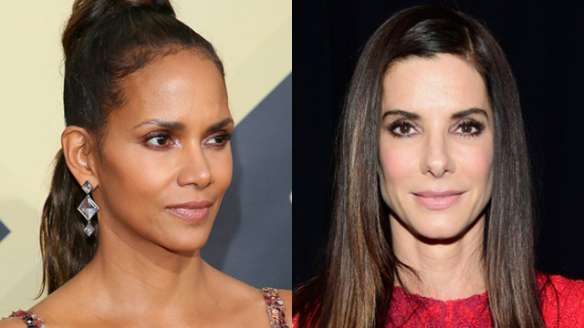 DREAM MUSES. Halle Berry and Sandra Bullock are the celebrities Bessie would like to dress up. Photos by Jean-Baptiste Lacroix/Frazer Harrison/Getty Images for The People's Choice Awards/AFP