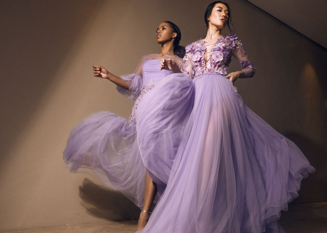 SOFT. Lilac colors are also in the collection