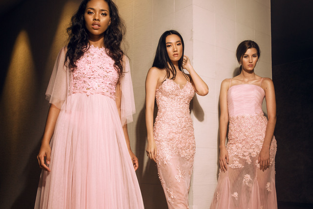 PINK. Some of the outfits Bessie will showcase in New York