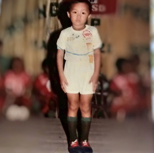 DREAMER. Nat Manilag as a kid. All photos courtesy of Nat Manilag unless stated otherwise
