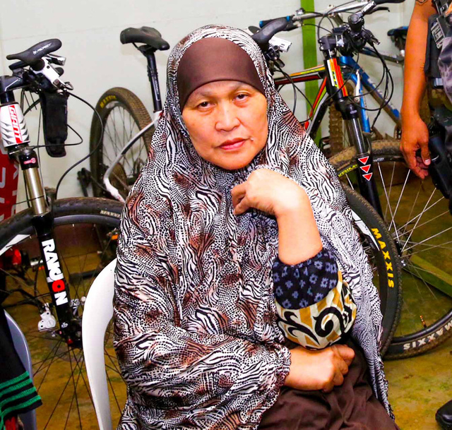 MOTHER. Farhana Maute is arrested and in custody.