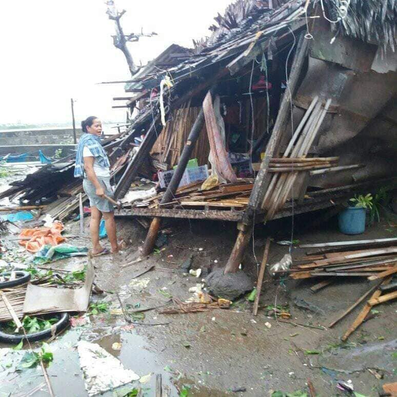 GUBAT, SORSOGON. Photo by Tin laban latoga onerasaj via NASSA/Caritas Philippines