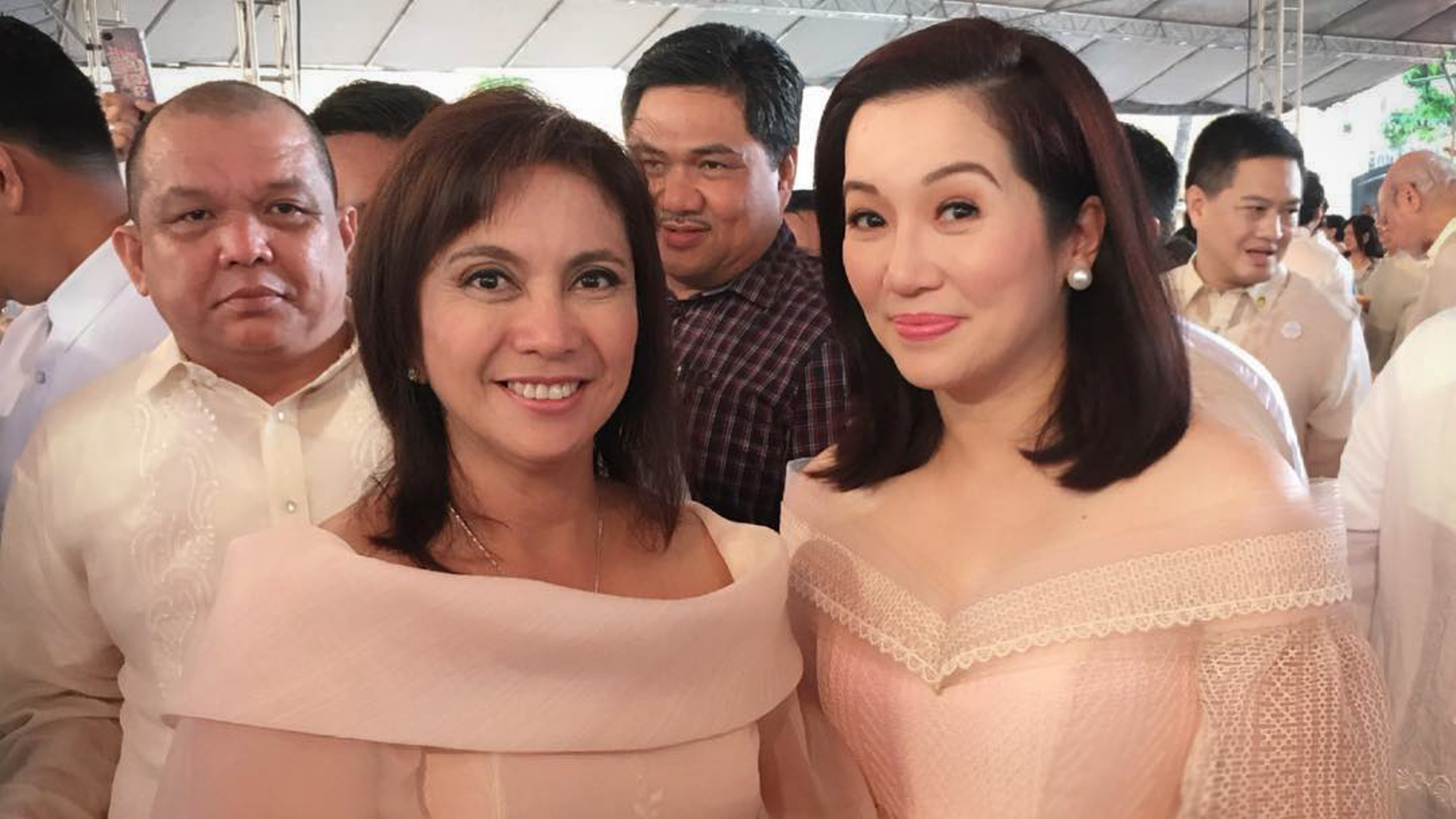 IN PHOTOS: What VP Leni, stars wore at inauguration