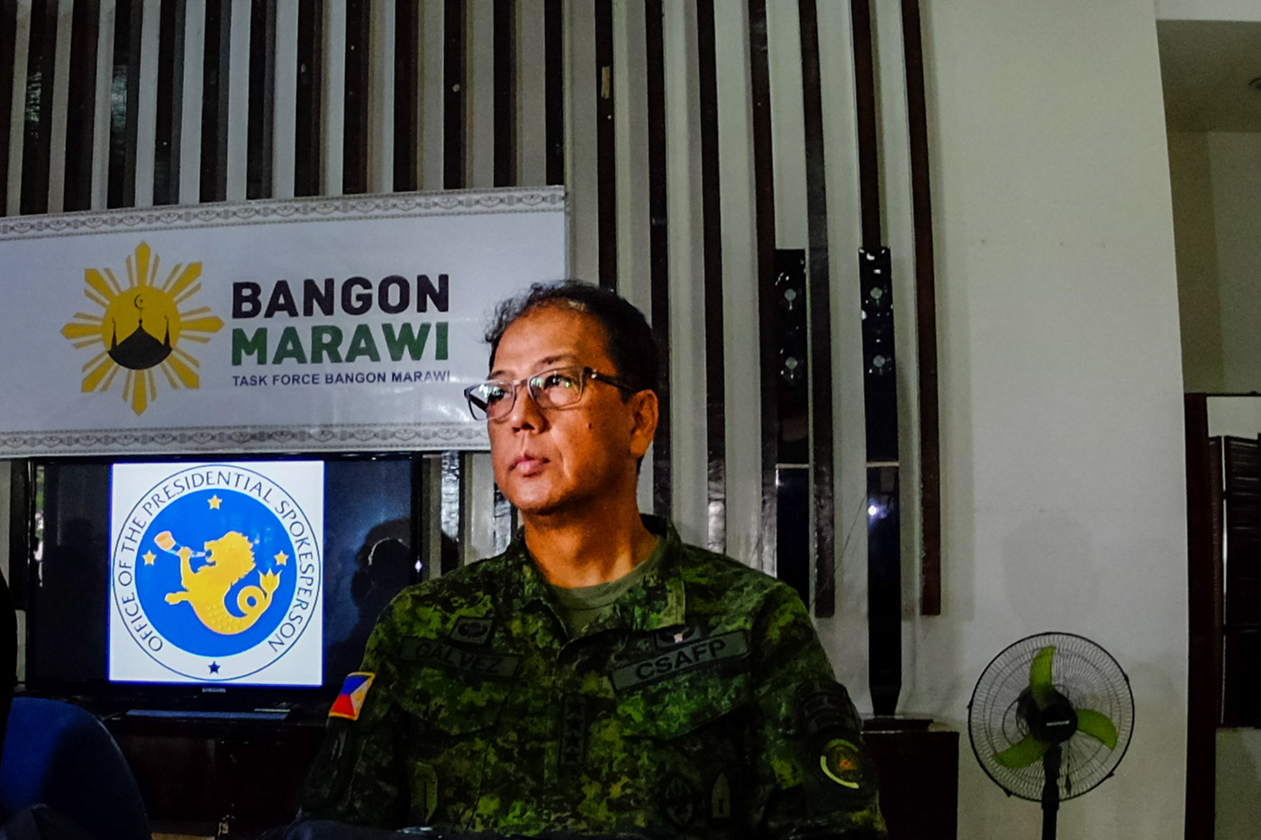 AFP CHIEF. General Carlito Galvez Jr is a known advocate of the peace process with the Moro Islamic Liberation Front. File photo by Bobby Lagsa/Rappler