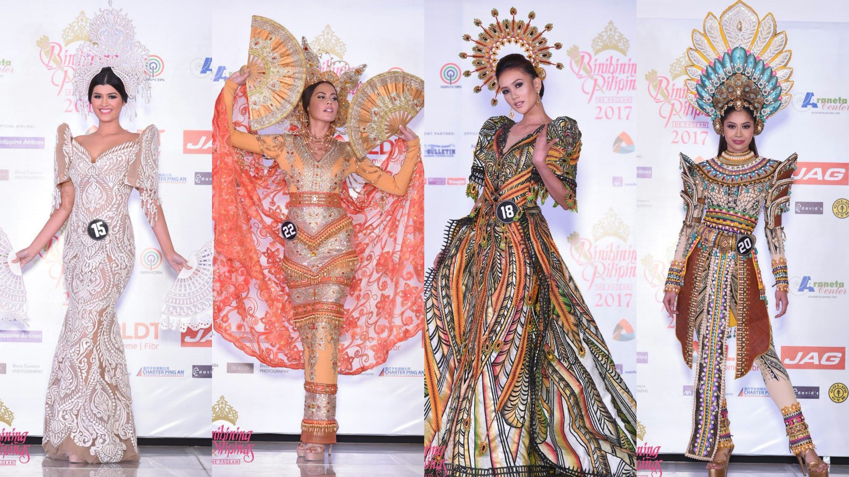 In Photos Bb Pilipinas 2017 Official Top 10 National Costumes