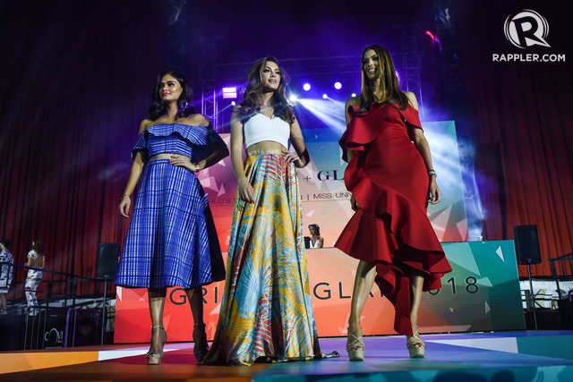 In Photos Miss Universe Queens World 39 S Strongest Man Join 39 Grit And Glam 39 Fashion Show