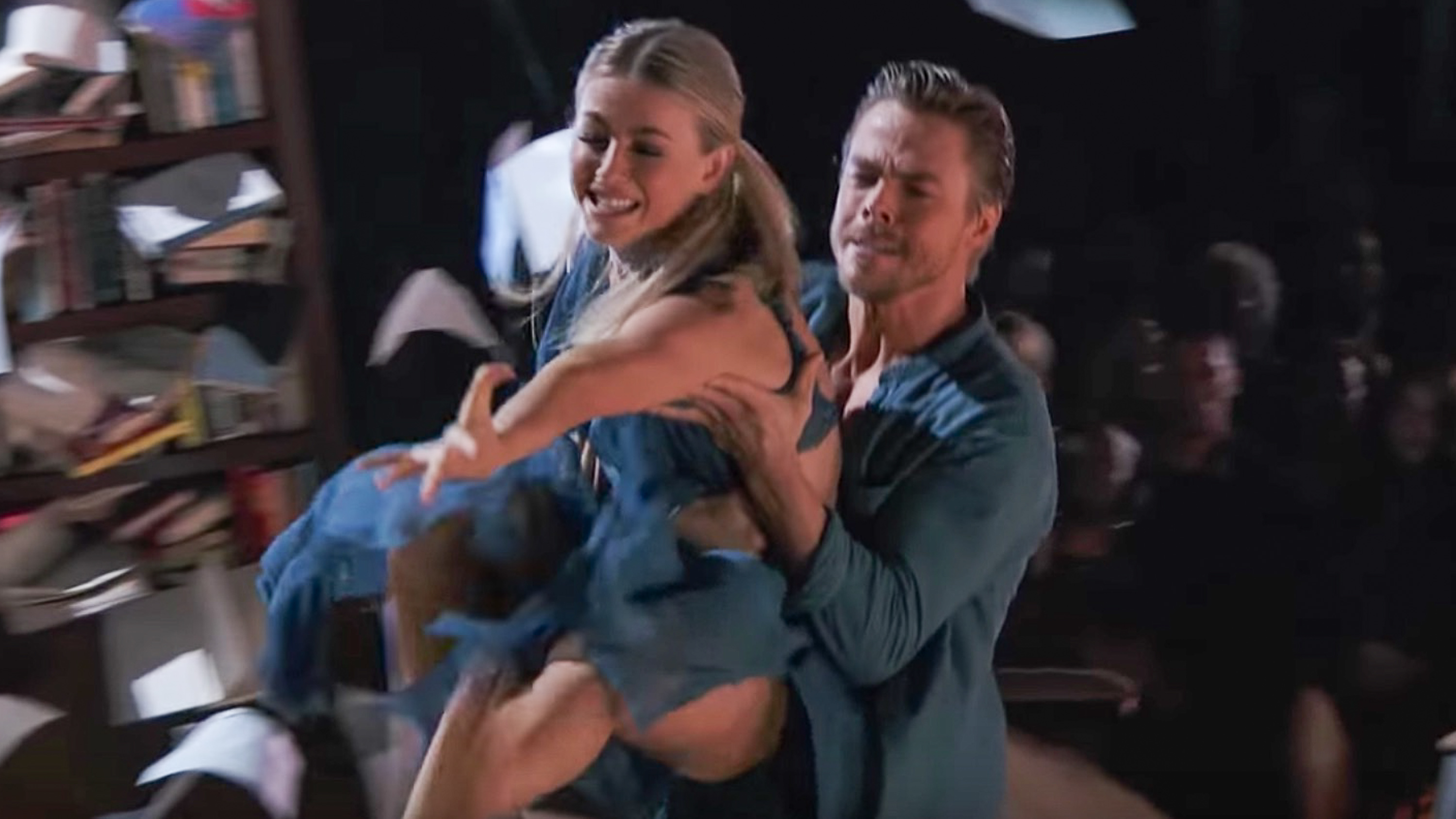 WATCH: Derek, Julianne Hough perform emotional dance on ...