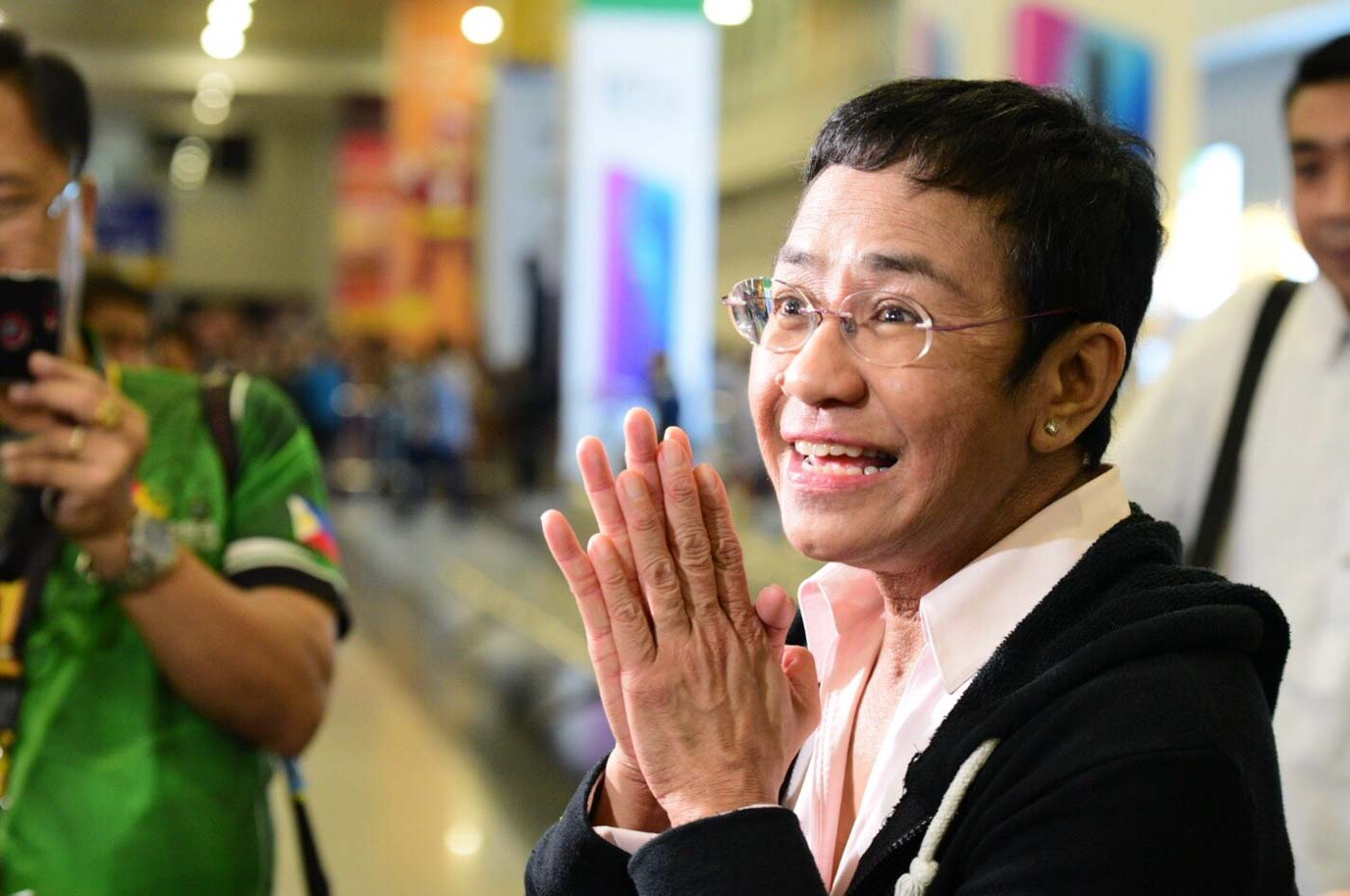 Image result for Maria Ressa arrested, photos