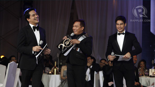 Piolo with John Lloyd Cruz and John 'Sweet' Lapus.