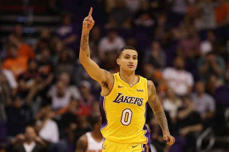 Image result for kyle kuzma