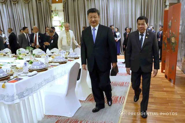 VISITOR. President Rodrigo Duterte may soon welcome Chinese President Xi Jinping to Philippine shores. Malacañang file photo