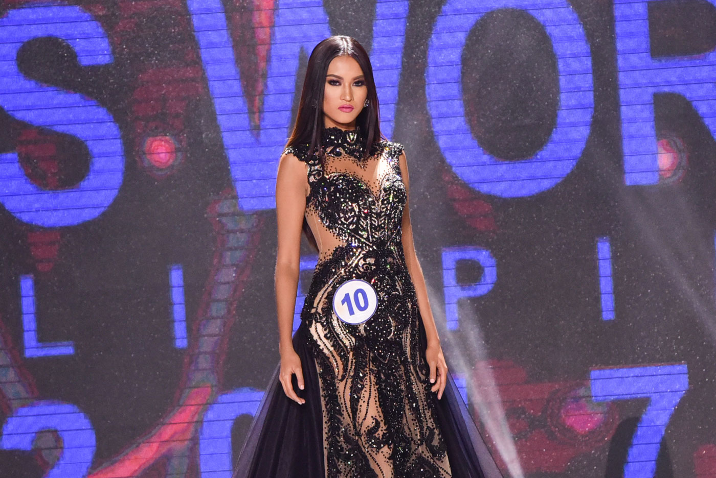 In Photos Top 6 Gowns At Miss World Philippines 2017