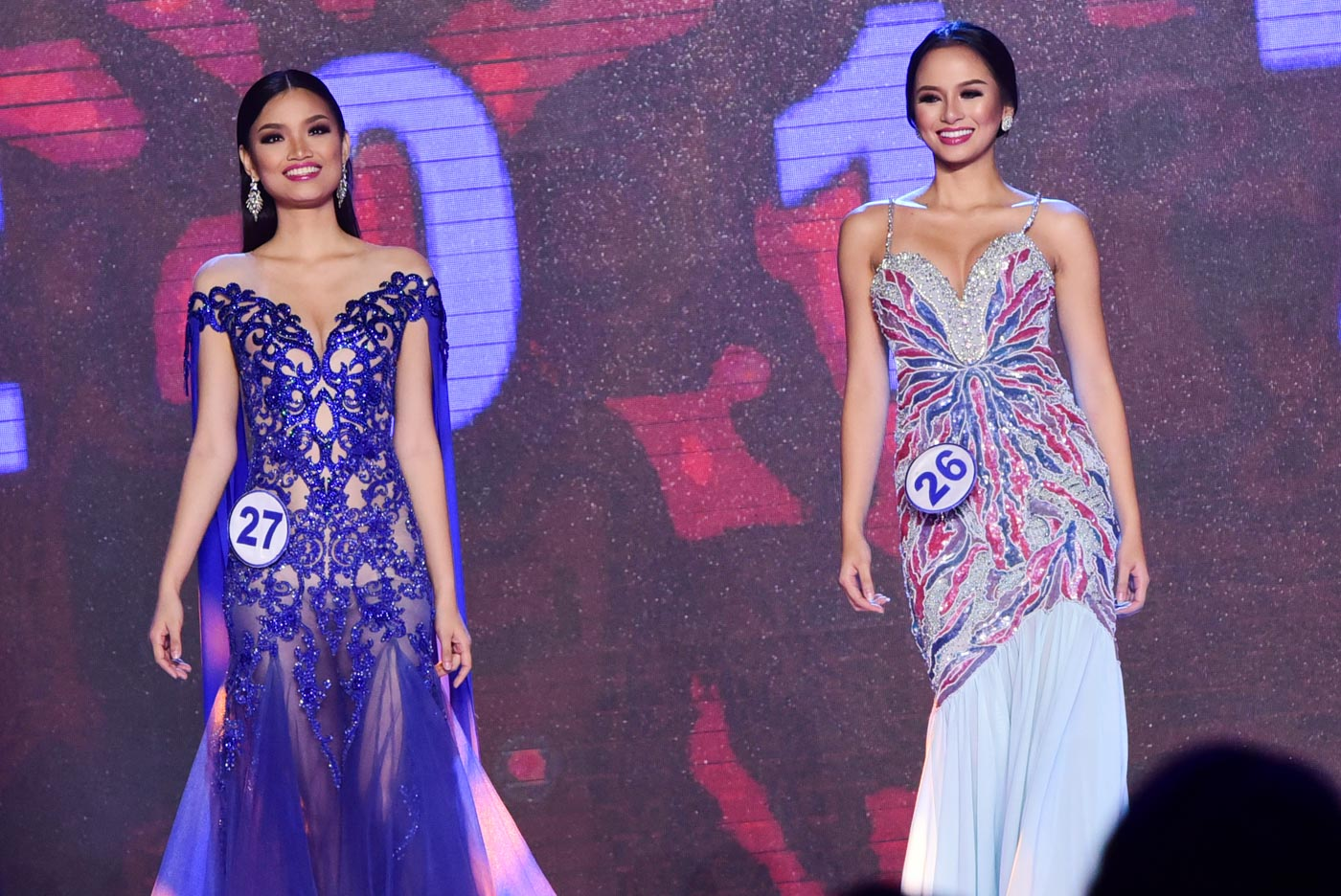 IN PHOTOS: Miss World PH 2017 evening gown competition