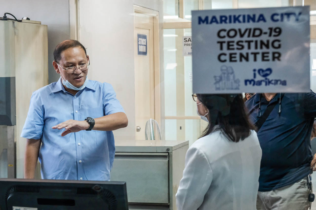 DOH disapproves location of proposed Marikina virus test center