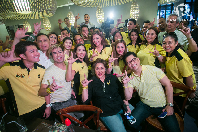 IN PHOTOS: Stars Step Out For 'Artists For Mar Roxas' Event