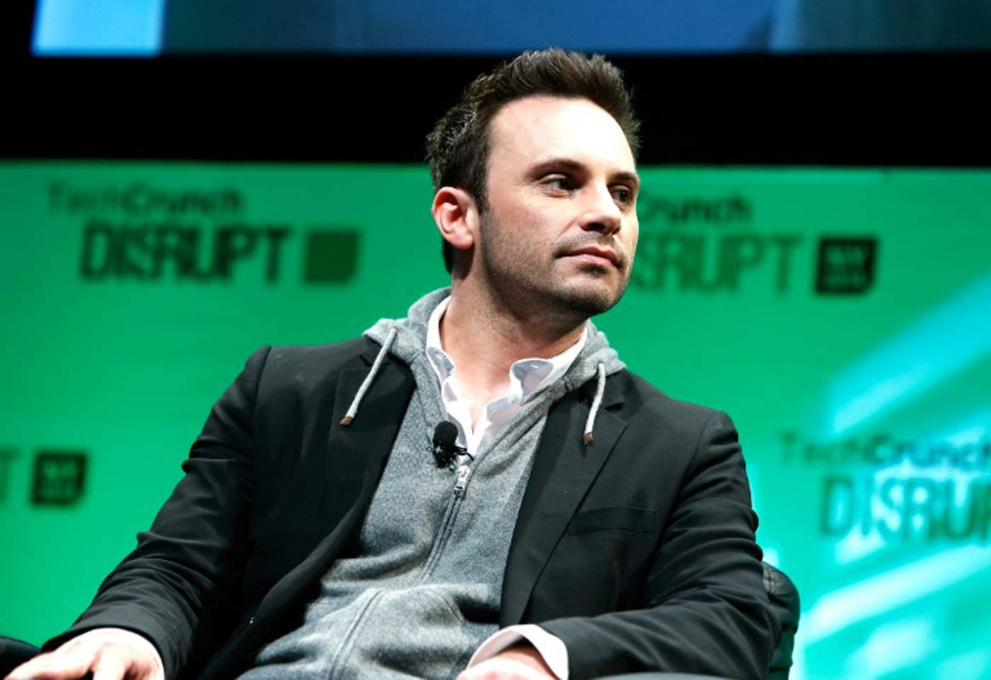 2f0d807d0aac LEAVING FACEBOOK. Brendan Iribe speaks at TechCrunch Disrupt NY 2014 on May  5