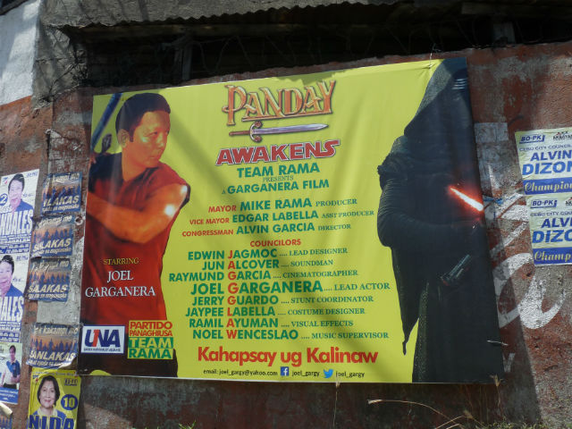 Campaign Flashback >> Funny, strange, outrageous campaign posters in Cebu City