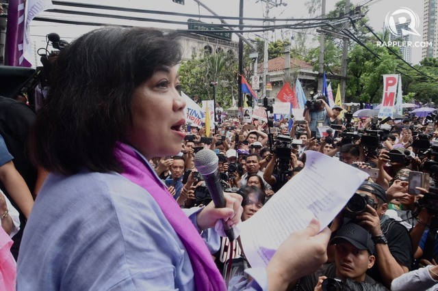 APPEAL. The Integrated Bar of the Philippines (IBP) will appeal the ouster of Chief Justice Maria Lourdes Sereno. Photo by Angie de Silva/Rappler