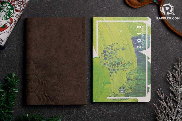 In Photos Starbucks Ph S 2018 Planner