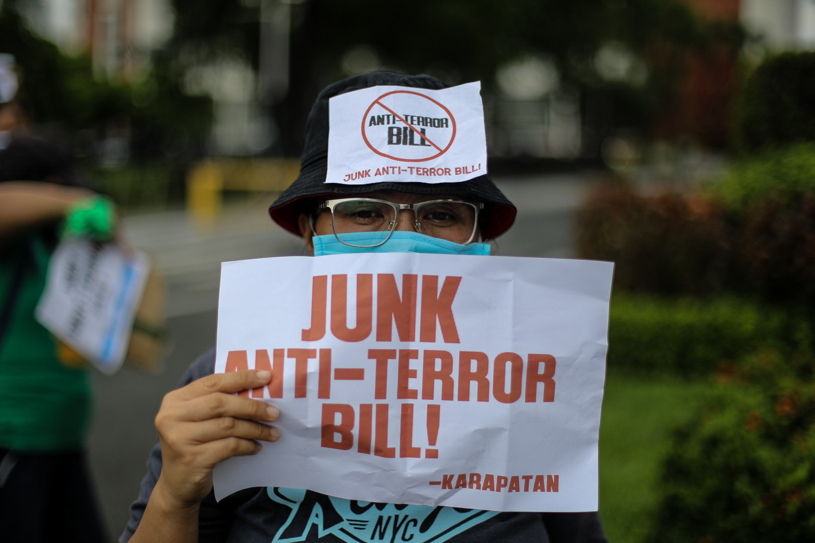Sereno: It is the most unfortunate time to pass anti-terror bill