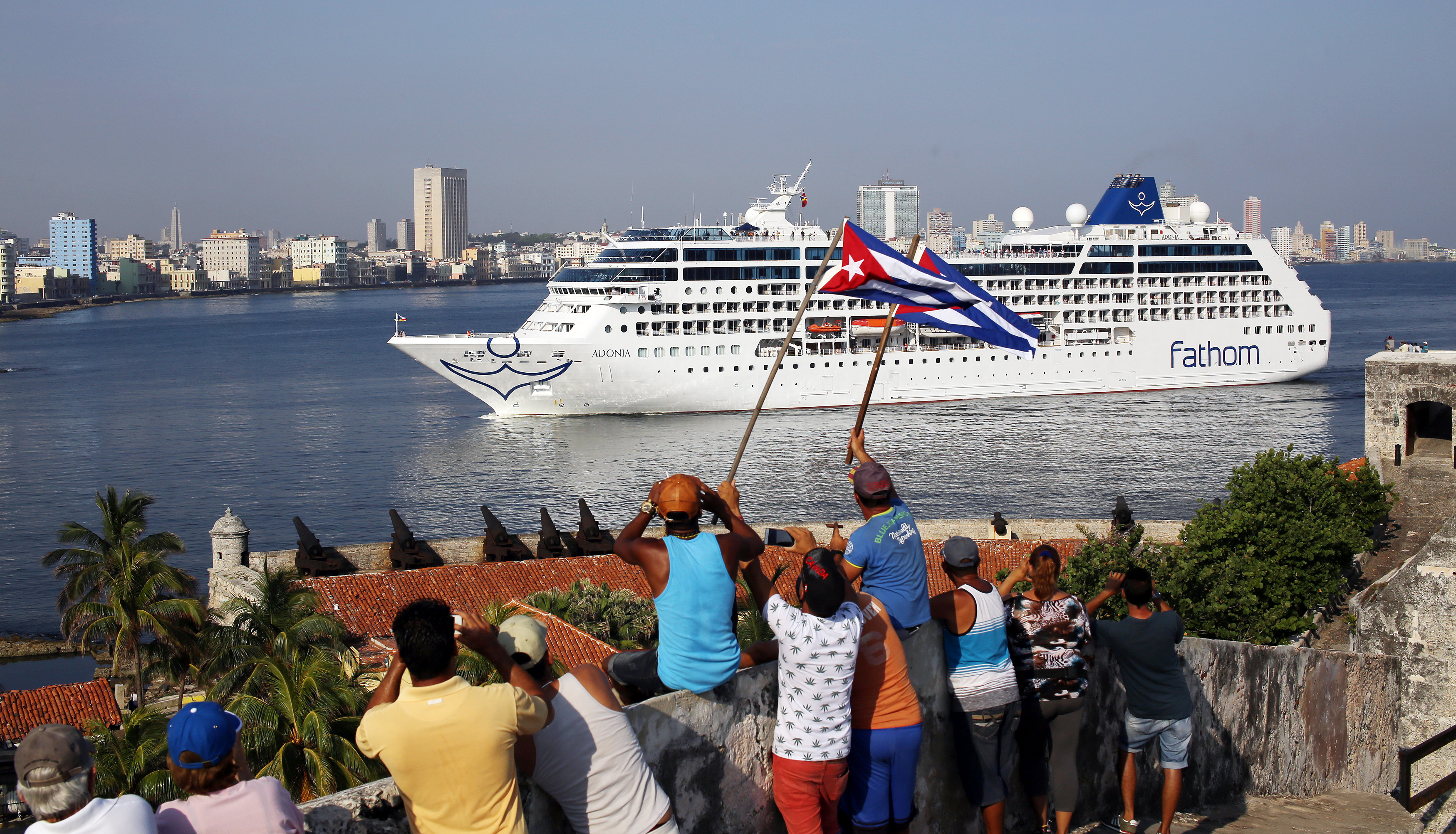 Happy Tears As First USCuba Cruise In Decades Docks - Cuban cruises