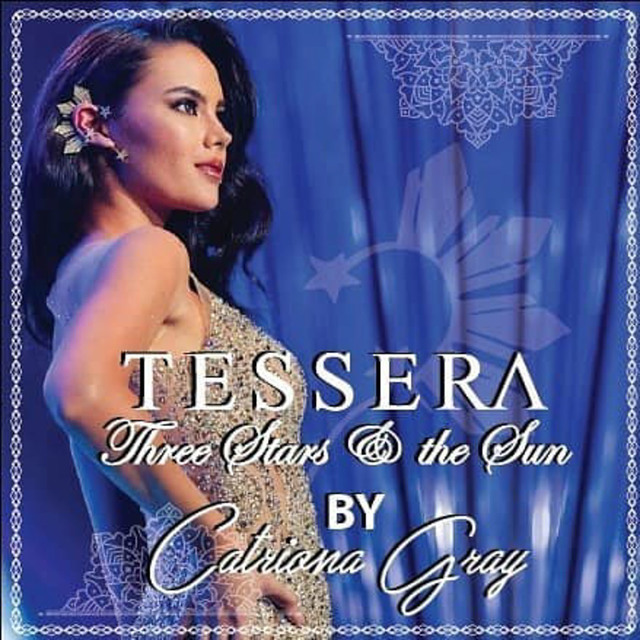FAMOUS ACCESSORY. Catriona's Three Stars and the Sun earcuff has been replicated by many. Screenshot from Instagram/@tesserajewelry
