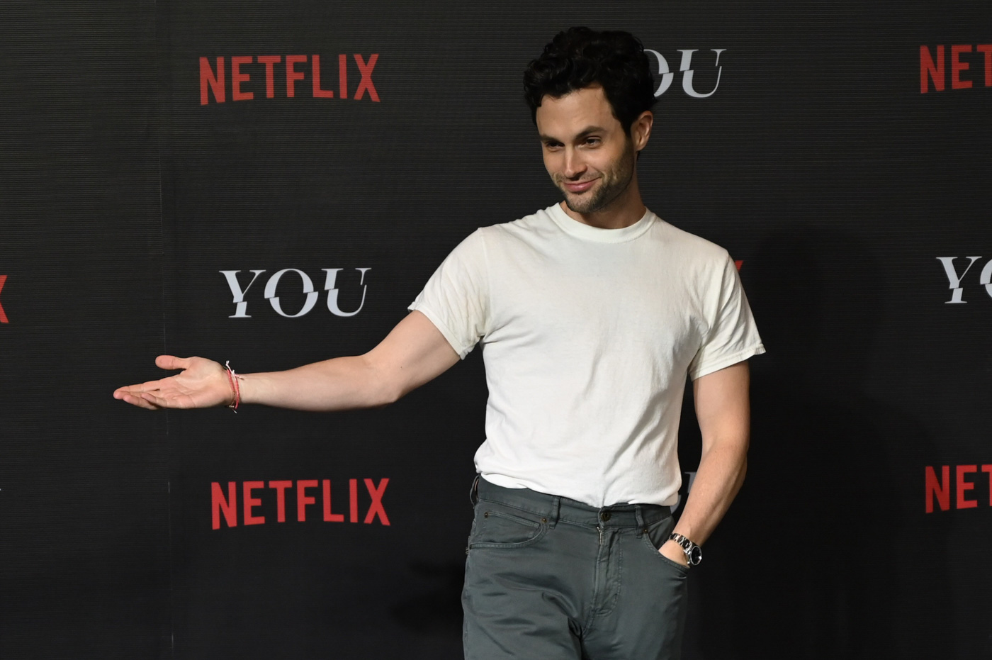 Penn Badgley is taking it 'one creepy step at a time' for
