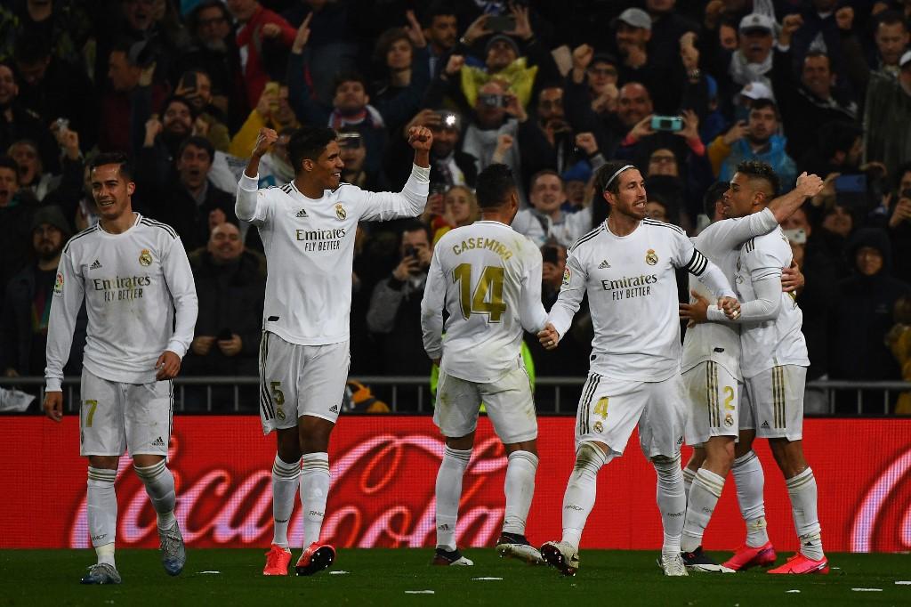 Image result for Manchester City v Real Madrid postponed as La Liga in quarantine fixtures suspended