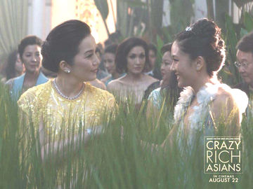First Look Kris Aquino Goes Glam In Still From Crazy Rich Asians
