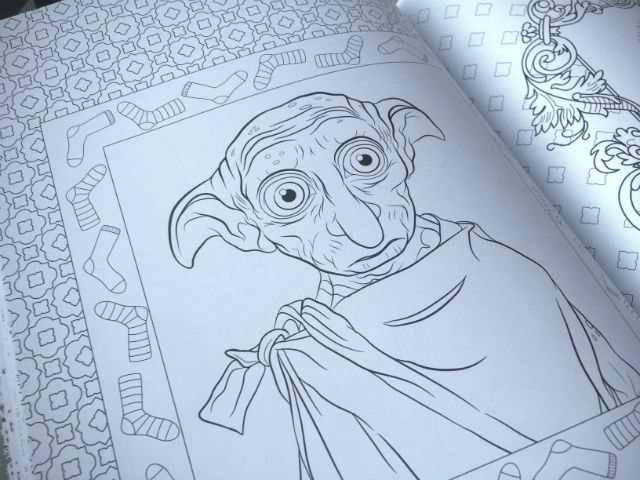 Check out the new \'Harry Potter\' magical creatures coloring book