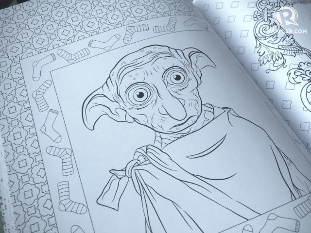 Check out the new 39 harry potter 39 magical creatures Coloring book national bookstore