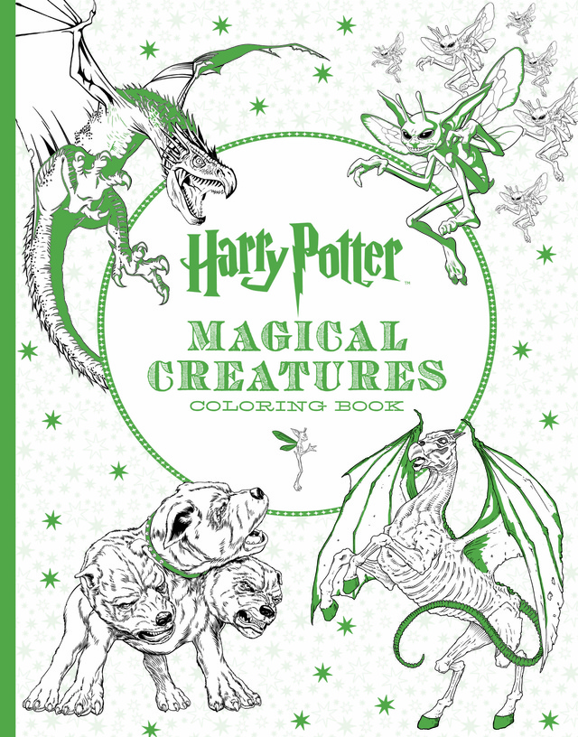 Check Out The New Harry Potter Magical Creatures Coloring Book