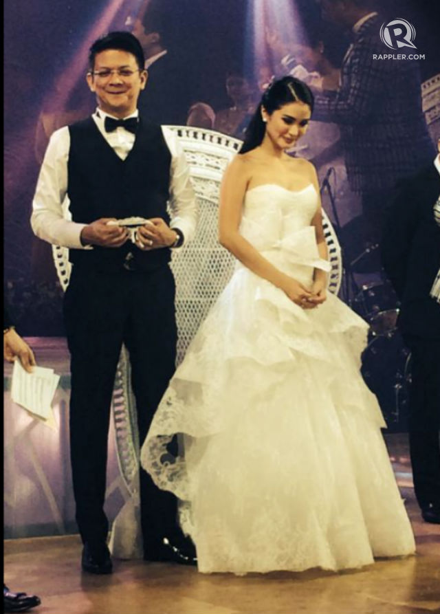 5cb48e89173 IN PHOTOS  Heart Evangelista in all her stunning wedding dresses