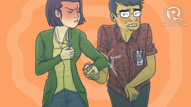 [Two Pronged] She wants me to abstain from lust?