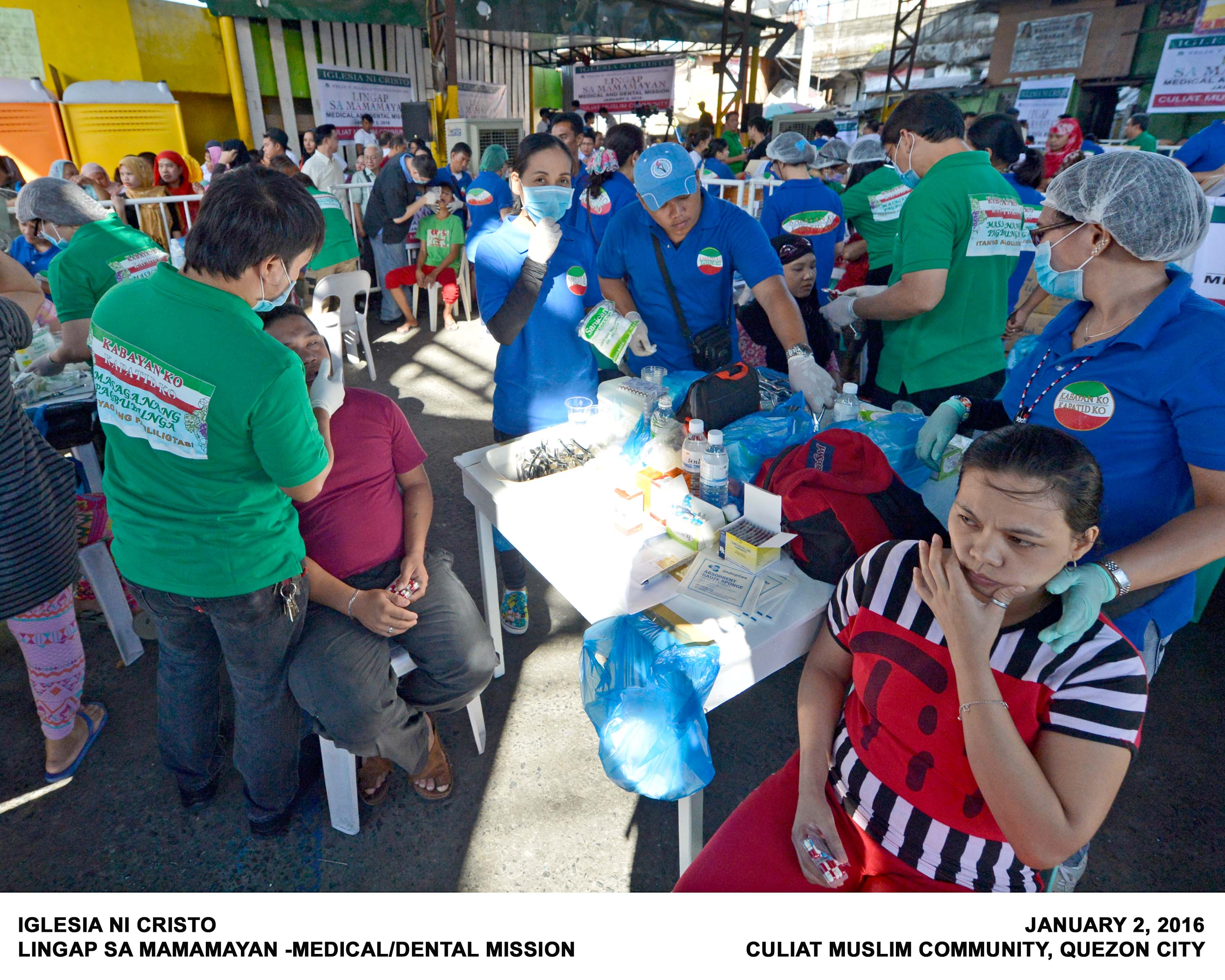Inc Holds Medical Mission For Muslims In Qc
