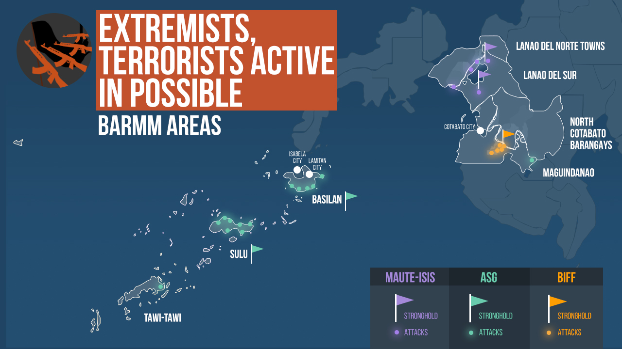 Based on data from International Alert, fatal attacks occurred from 2016 to 2017.