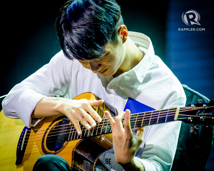 IN PHOTOS: Guitar prodigy Sungha Jung plays for Manila fans