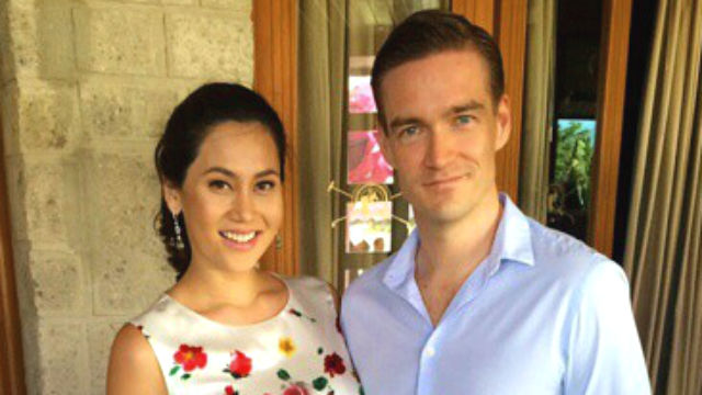 Image result for Cristalle Belo and Justin Pitt