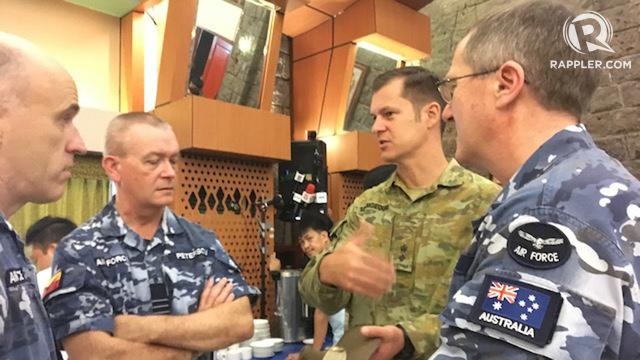 AUSTRALIA. The Australian Defense Force has 60 personnel participating in Exercise Balikatan 2018. Photo by Carmela Fonbuena/Rappler