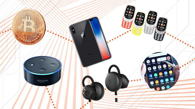 The year in consumer tech: iPhone X, Nokia's return, Bitcoin's rise