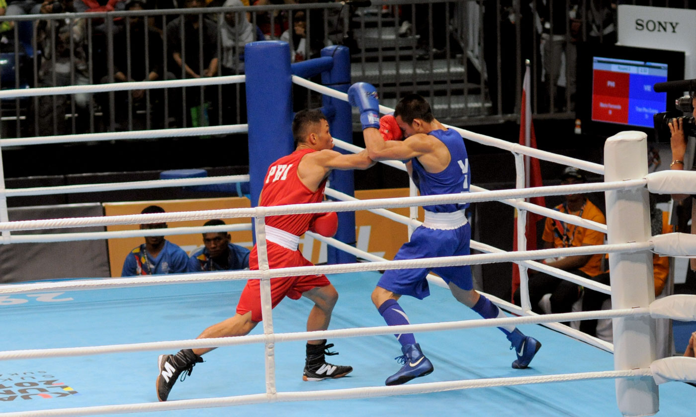 ph boxers a smash hit as fernandez suarez marvin advance