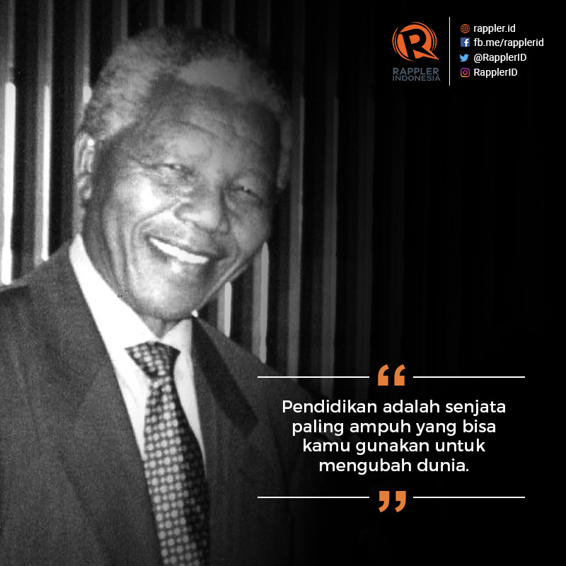 Nelson Mandela Dan Jalan Panjang Menuju Dunia Ideal