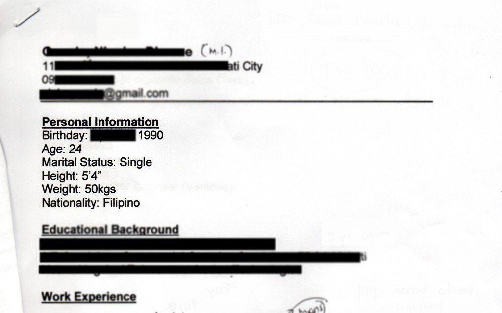 how not to write a resume or request 3 real and cringeworthy examples