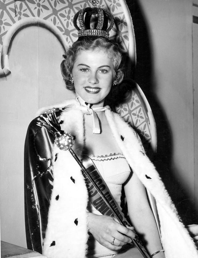 FIRST MISS UNIVERSE. Finland's Armi Kuusela was Miss Universe 1952. Photo from Miss Universe Organization