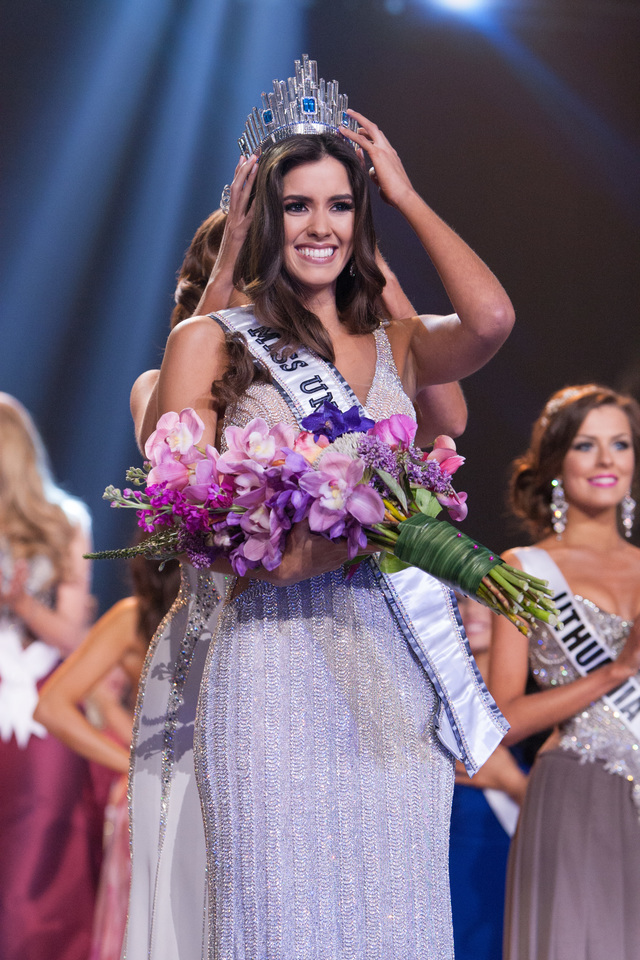 MISS UNIVERSE 2014. Colombia's Paulina Vega is crowned Miss Universe in Doral, Miami. Photo from Miss Universe Organization