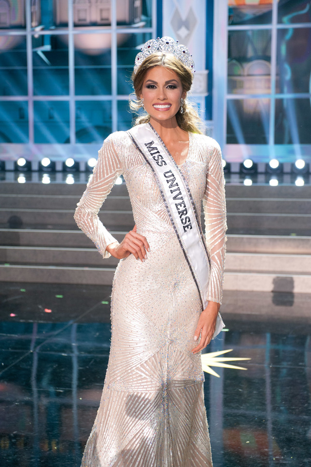 MISS UNIVERSE 2013. Gabriela Isler poses for photos at the conclusion of the Miss Universe 2013 pageant from Crocus City Hall in Moscow, Russia. Photo from Miss Universe Organization