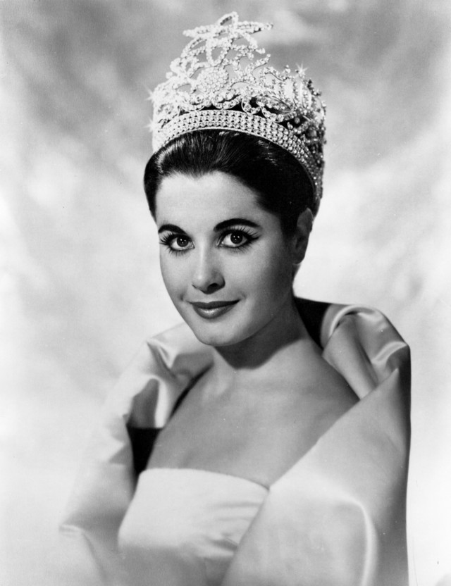 MISS UNIVERSE 1962. Argentina's Norma Nolan poses for an official photo. Each Miss Universe will be featured in thousands of photos during her reign and will sign just as many autographs. Photo from Miss Universe Organization